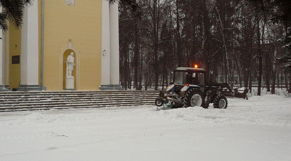 снег, сергиев посад