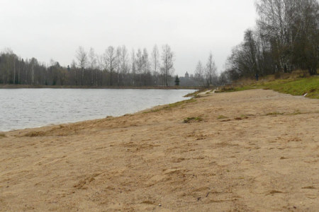 Lesnoye lake in November
