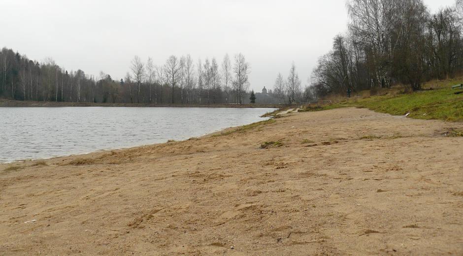 Lesnoye lake in November