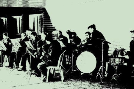 Krasnozavodsk brass band