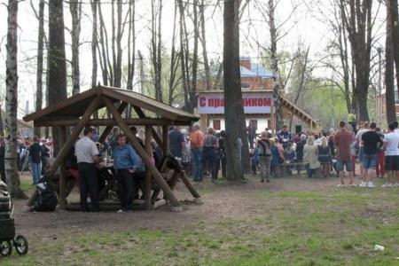 Karaoke at Mitkina st & Kozikha area