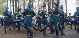 Kremlin's honour guards