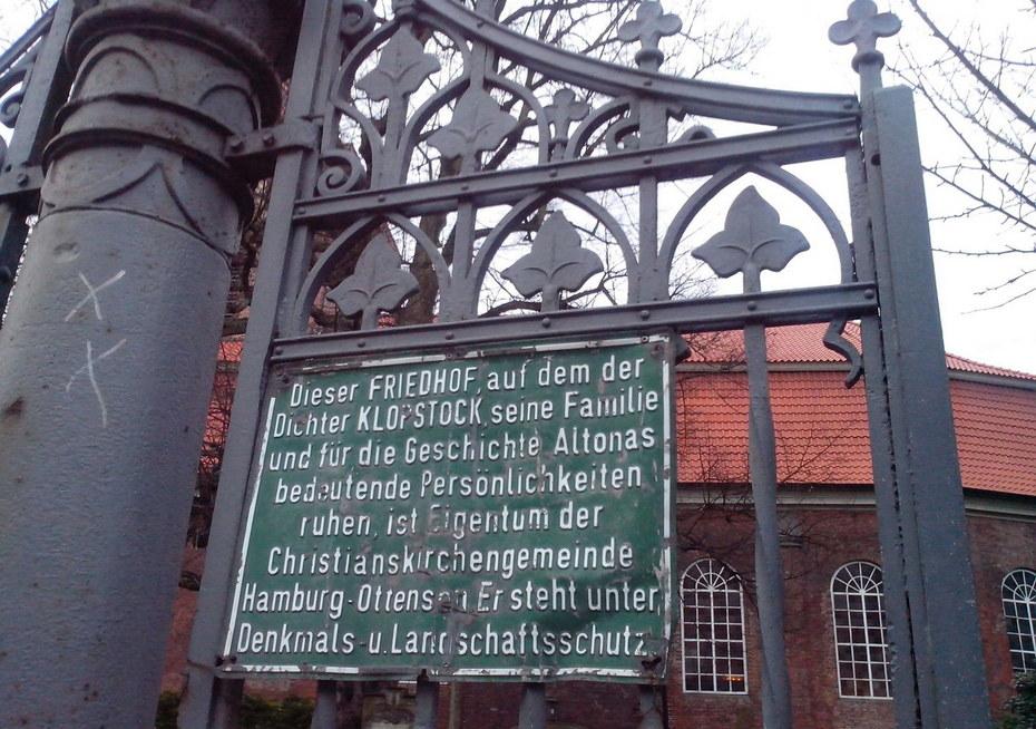 Кристианкирхе, Оттензен, Гамбург