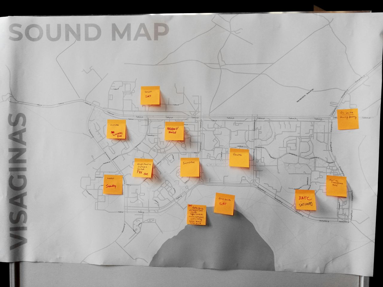 висагинас,литва,звук,map,карта,Visagino garsų žemėlapis