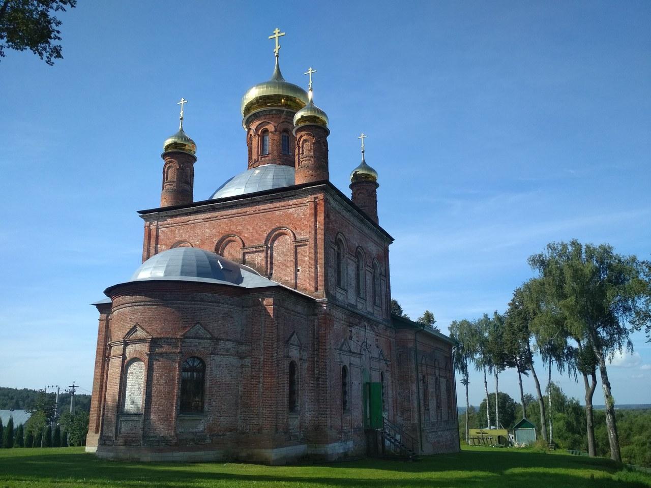 sharapovo,church